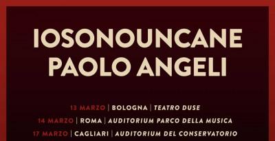 IOSONOUNCANE e Paolo Angeli  in tour a Marzo 2018